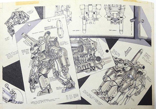 『宇宙戦艦ヤマト』メカデザイナー宮武一貴の原画展 横須賀の軍艦で開催