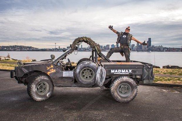 配車アプリで『マッドマックス』改造車に乗れる!? シアトルで驚愕プロモ企画
