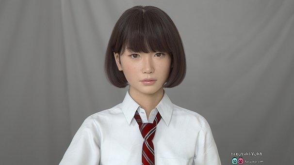 3DCGキャラクター「Saya」1