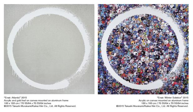 村上隆の新作「円相」展 麻布にて五百羅漢図展と同時開催