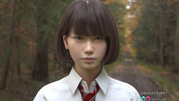 これ実写!? 女子高生3DCGキャラ「Saya」のクオリティが高すぎる