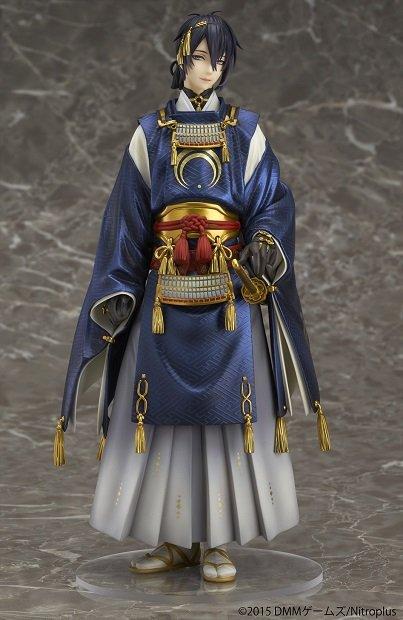 「刀剣乱舞」三日月宗近の1/8フィギュア 天下五剣の美しさを忠実に再現