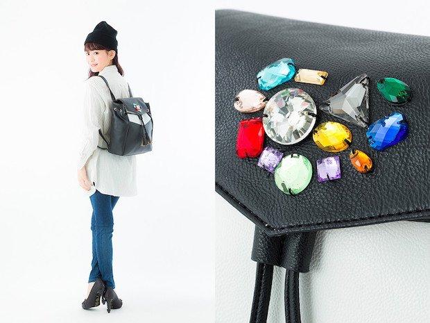 市川春子の漫画『宝石の国』をイメージしたバッグがハンパない輝き