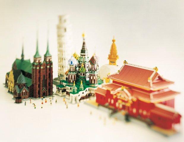 『レゴ(R)ブロック』でつくった世界遺産展 JAXAも特別強力