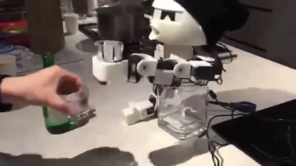 「ROBOT DRINKY: The Alcohol drinking Robot」スクリーンショット 2