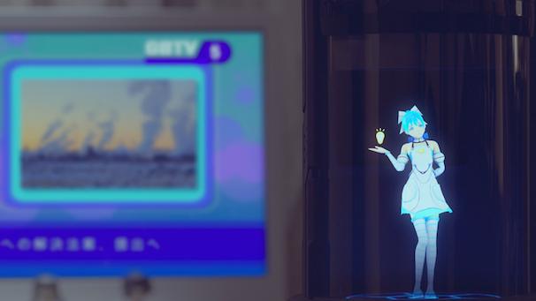 ホログラムコミュニケーションロボット「Gatebox」 3