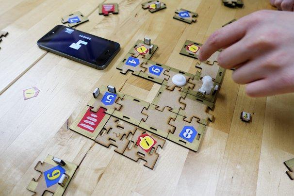 VRゲーム『アニュビスの仮面』アプリの画面と答え合わせ