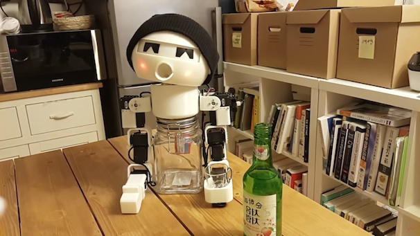 「ROBOT DRINKY: The Alcohol drinking Robot」スクリーンショット 4