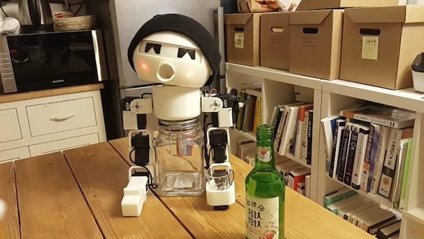 「ROBOT DRINKY: The Alcohol drinking Robot」スクリーンショット 4