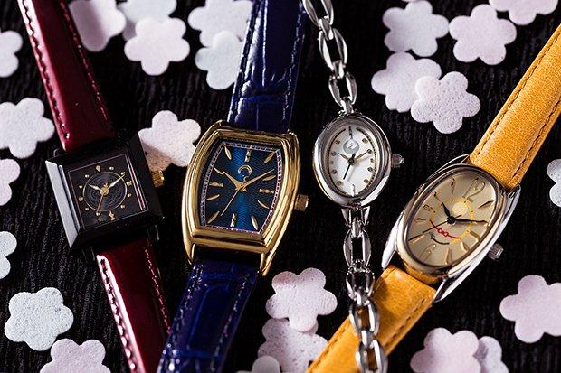 『刀剣乱舞』刀剣男子モチーフの繊細な腕時計がカッコイイ