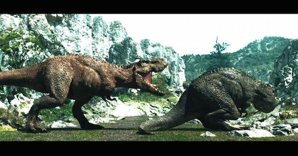 「オカモトゼロワンCM 恐竜篇」3