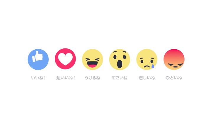 Facebookが絵文字による「リアクションズ」を実装 「悲しいね」など