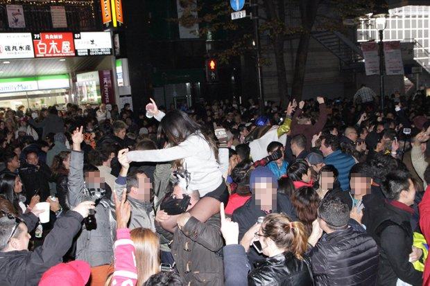 大晦日の渋谷では何が起きていたか? 怒号と暴力で迎えられた新年