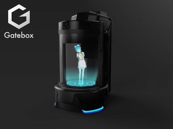 ホログラムコミュニケーションロボット「Gatebox」 4