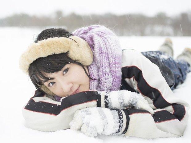 雪の上の生駒里奈
