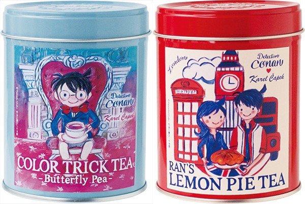 『名探偵コナン』缶入り紅茶が素敵 色が変わるトリックティーとは?