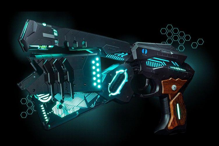 『サイコパス』電動変形する拳銃「ドミネーター」の完成度がヤバそう