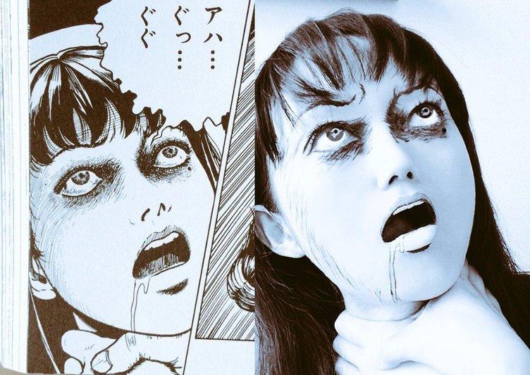 【閲覧注意】伊藤潤二のホラー漫画を実写で表現 恐ろしすぎる再現度