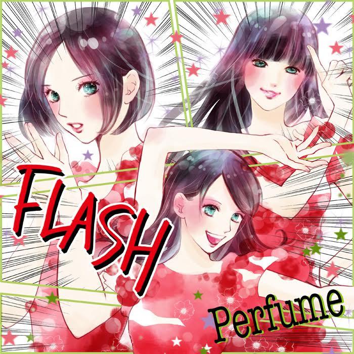 ちはやふる末次由紀がperfume描く 新曲flashが漫画だったら