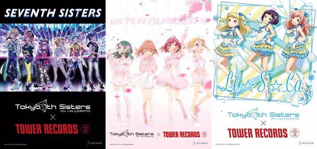 新宿店:セブンスシスターズ/川崎店:WITCH NUMBER 4/名古屋近鉄パッセ店:Le☆S☆Ca