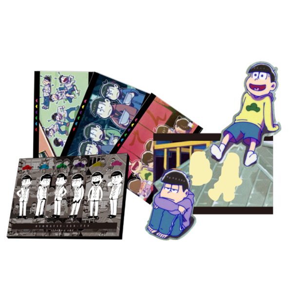 オリジナルケース付「おそ松さん」名場面シールセット