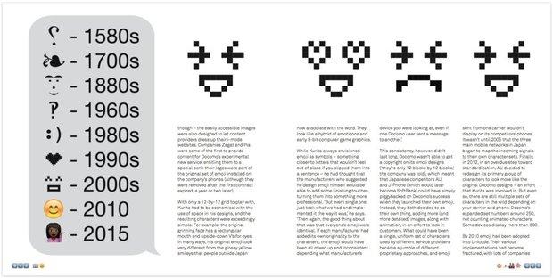 『The Story of Emoji』2