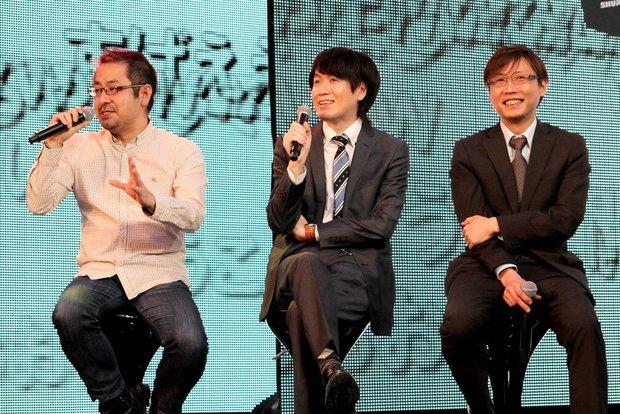 齊藤陽介さん、志倉千代丸さん、秋葉大介さん