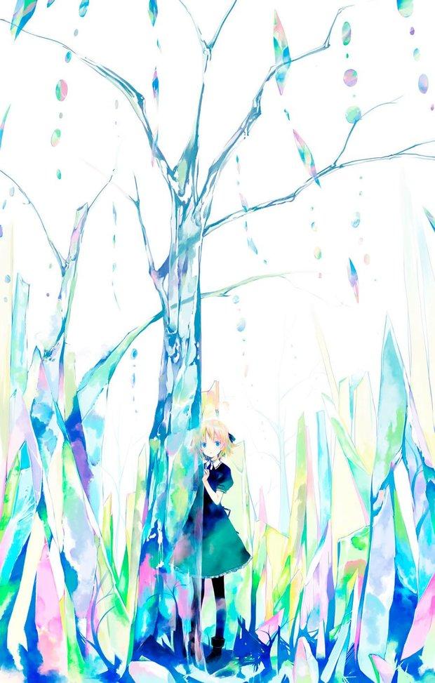 ガラスの森「ガラスの森に迷い込んだら 眼をつむってあるくことだよ」/高野音彦