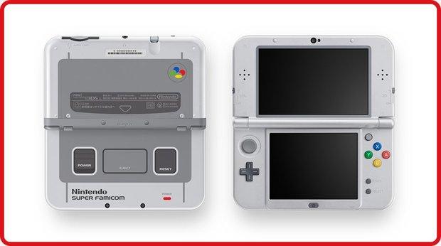 「Newニンテンドー3DS LL スーパーファミコン エディション」