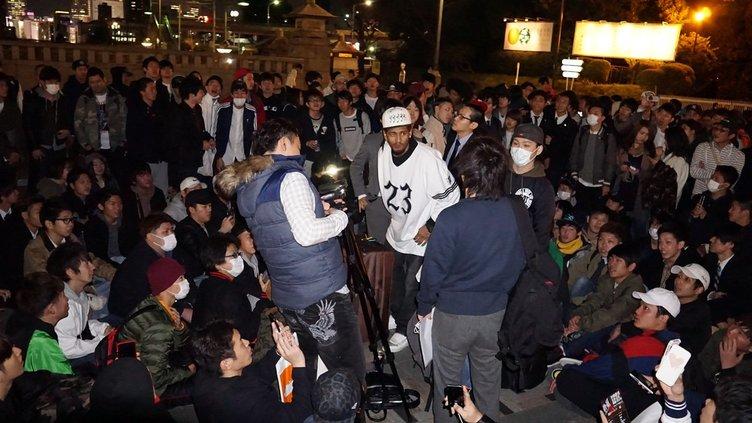 1000人規模が原宿に集結! サイファーの日の夜、何が起きていたのか?