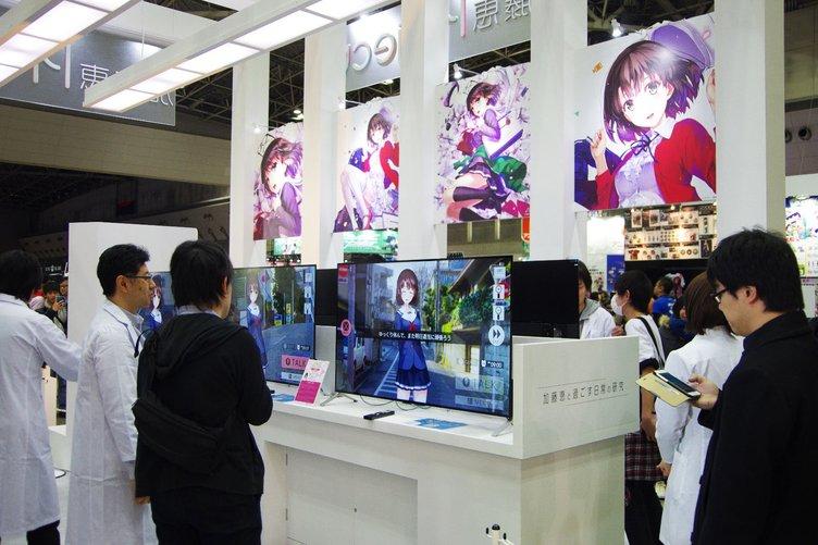 「冴えカノ」加藤恵Projectの展示 最新技術でアニメの楽しみを拡張