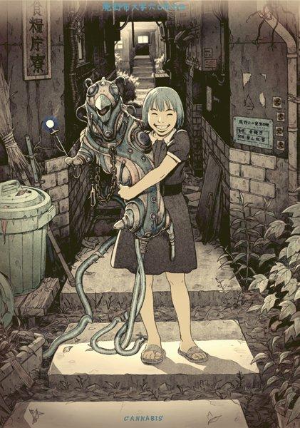 アニメーター 田中達之の作品集『CANNABIS WORKS 2』10年の仕事を網羅