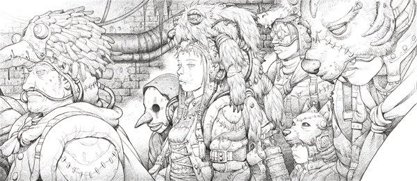 アニメーター 田中達之の作品集cannabis Works 210年の仕事を網羅
