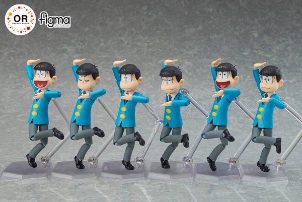 『おそ松さん』6つ子のfigmaアクションフィギュア! 3月17日受注開始