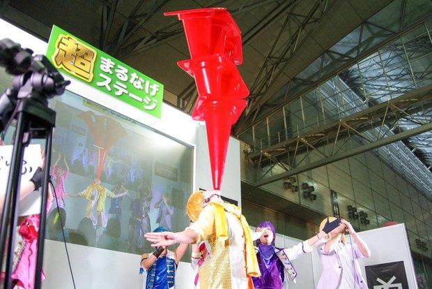ニコニコ超会議2016 超まるなげステージ「コスつく」パフォーマンス 8