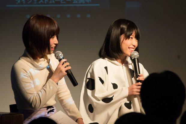 『酸欠少女さユり 夜明けのパラレル実験室 〜僕街編〜』/左から姫乃たま、さユり