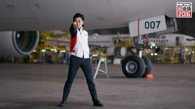 「【JAL】社員が「Calc.」を踊ってみた【岡本ソロ】」4