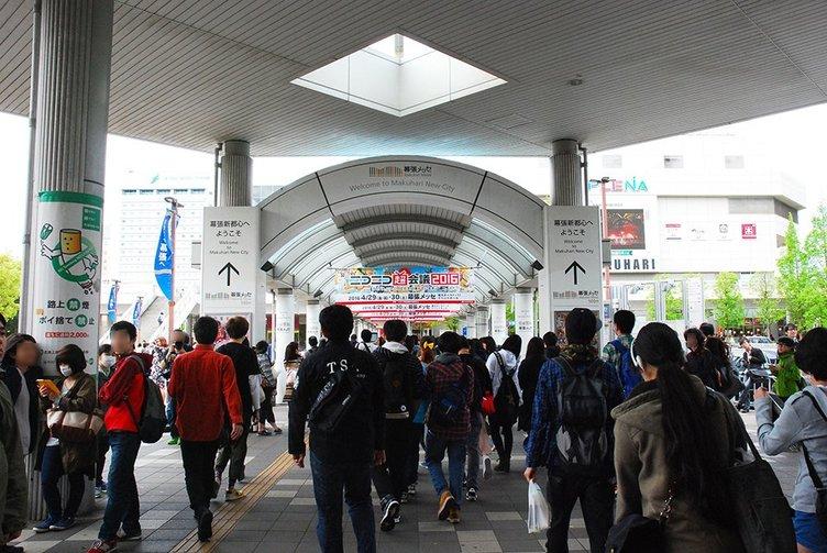 「ニコニコ超会議2016」初日開幕! 熱気溢れる開場の瞬間