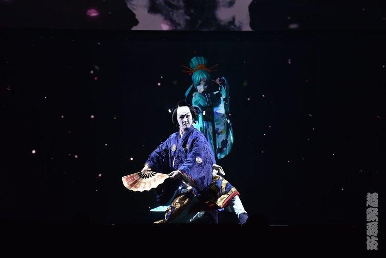 【超会議】超歌舞伎レポ 伝統芸能/初音ミク/ニコ生ユーザーが魂の饗宴