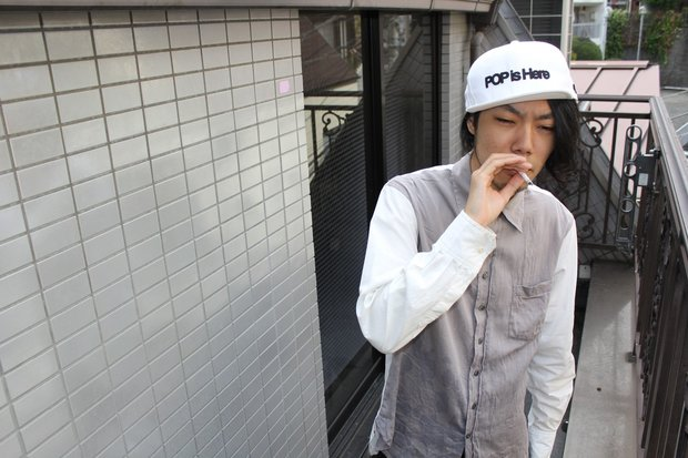 喫煙スペース