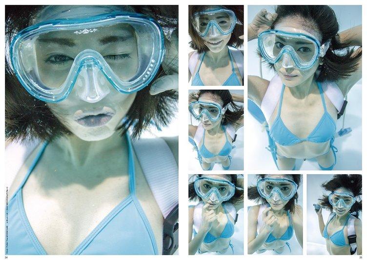 『月刊水中ニーソ』ニーソほぼ無しの顔特集! リボルテック化計画も