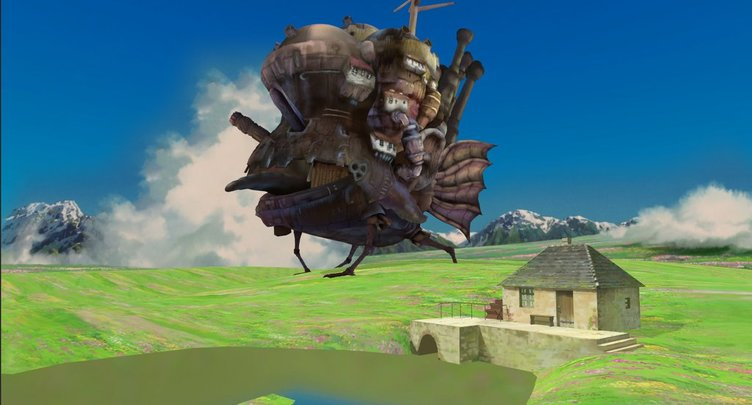 ジブリ作品の名シーンをVR化 トトロやハウルの世界に入れる時代に!