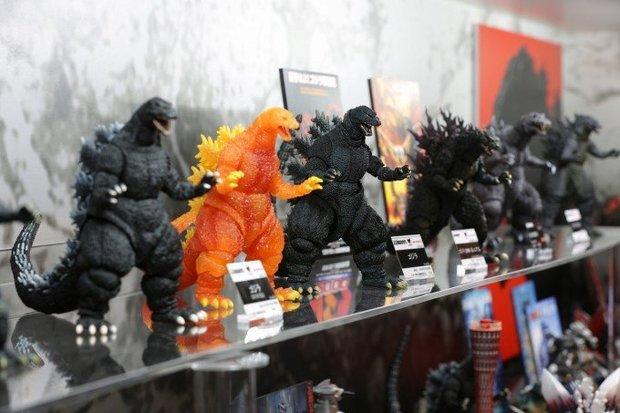 「S.H.MonsterArts ゴジラシリーズ特集展示」