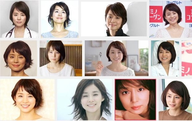 石田ゆり子さんGoogle画像検索スクリーンショット