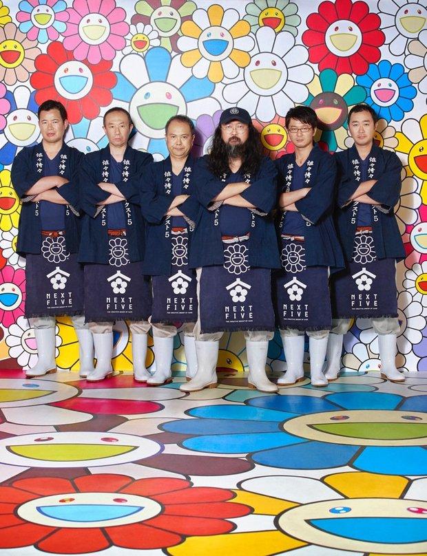 村上隆×NEXT5/Photo by Shin Suzuki