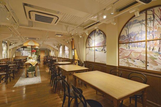 ロクシタン新宿店 3階カフェ