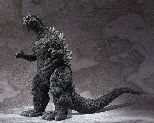 「S.H.MonsterArts ゴジラ(1954)」2