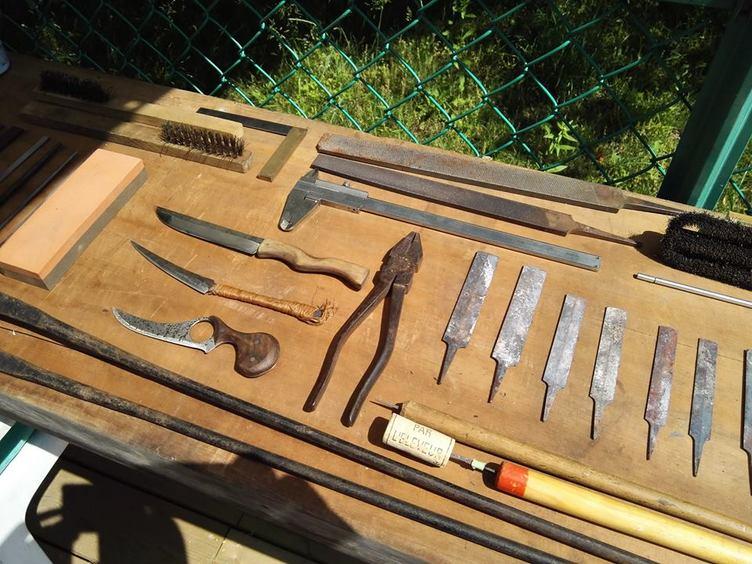自分だけのカスタムナイフをつくろう! 各日4名限定のワークショップ