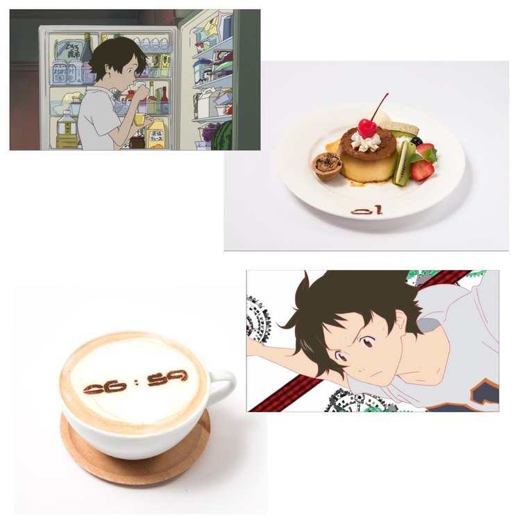 細田守『時かけカフェ』オープン スタジオ地図作品の料理を再現