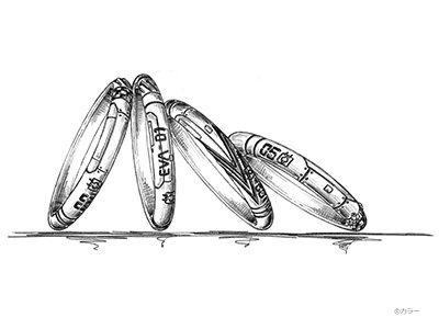 エントリープラグをイメージしたリング
